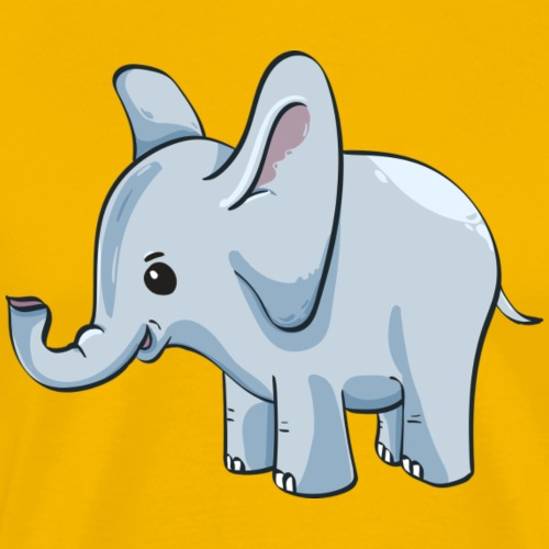 Elefanten Baby - Männer Premium T-Shirt