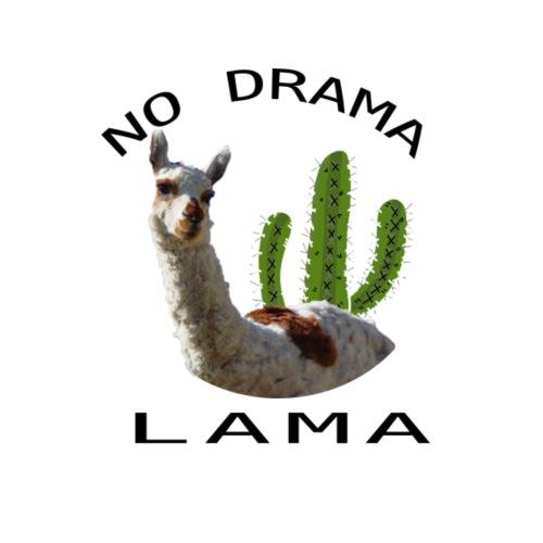 No Drama Lama - Männer Premium T-Shirt