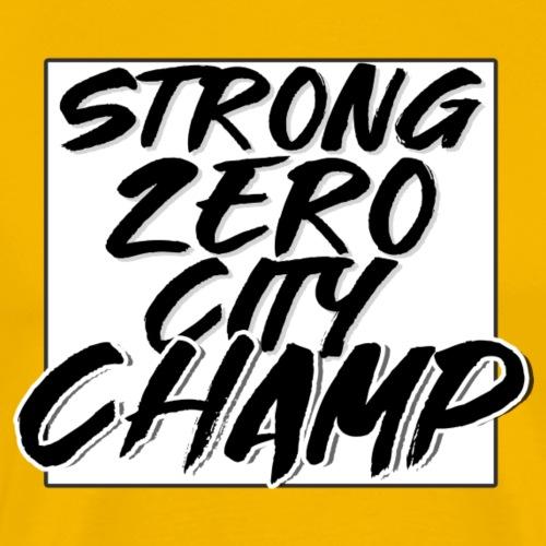 STRONG ZERO CITY CHAMP - Männer Premium T-Shirt