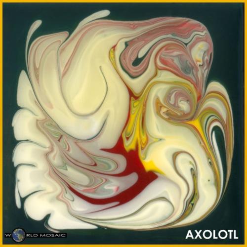 TIAN GREEN Mosaik DE114 - Axolotl - Männer Premium T-Shirt