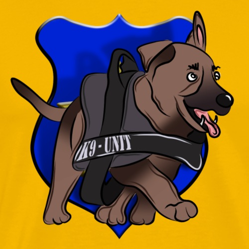 K9 Unit Puppy - Männer Premium T-Shirt