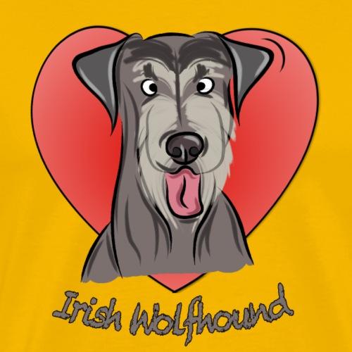 Irish wolfhound - Männer Premium T-Shirt
