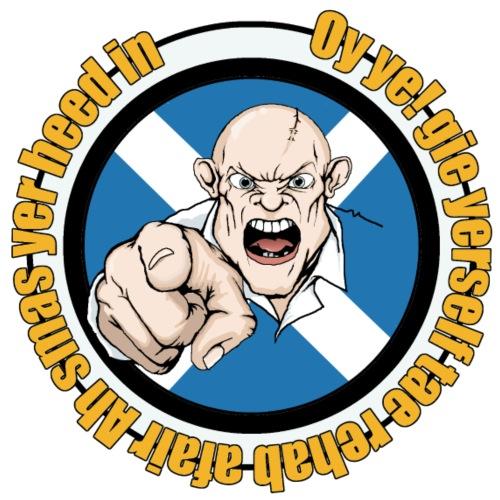 angry therapist - Men's Premium T-Shirt