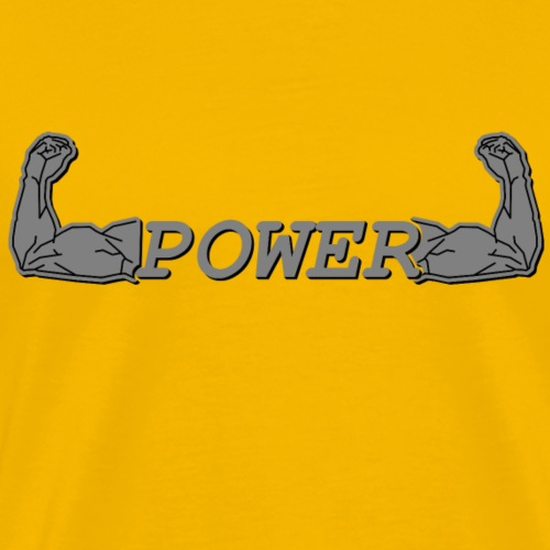 POWER - Männer Premium T-Shirt