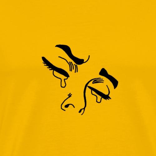 Crying eyes - Männer Premium T-Shirt