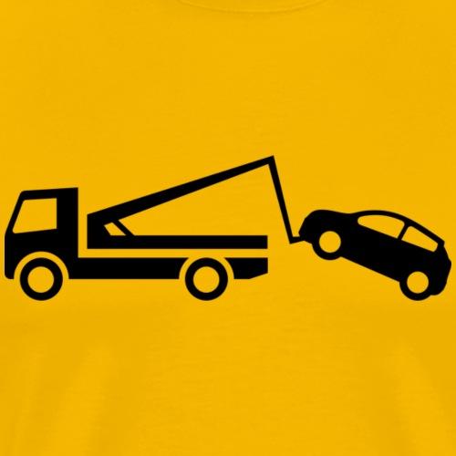 Parken verboten Tshirts Abschleppen - Männer Premium T-Shirt