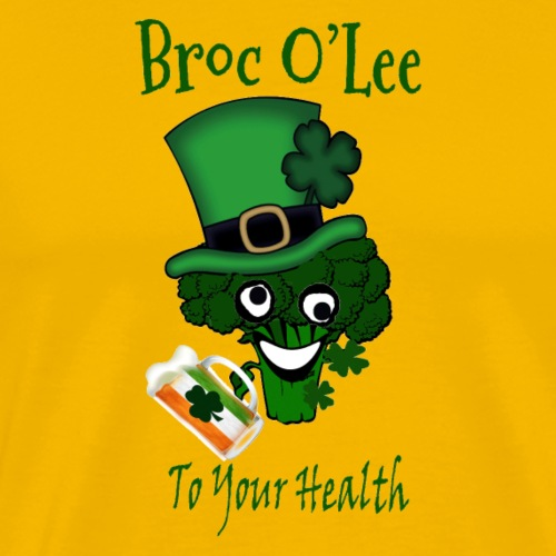 Vegan St Patricks Day Irish - Men's Premium T-Shirt