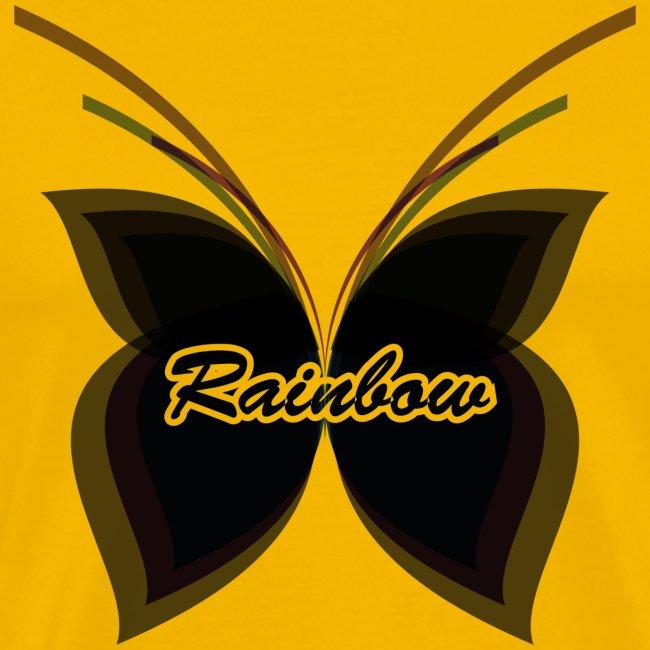 Black Butterfly Rainbow