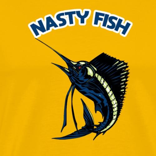 Nasty Fish - Voilier - T-shirt Premium Homme