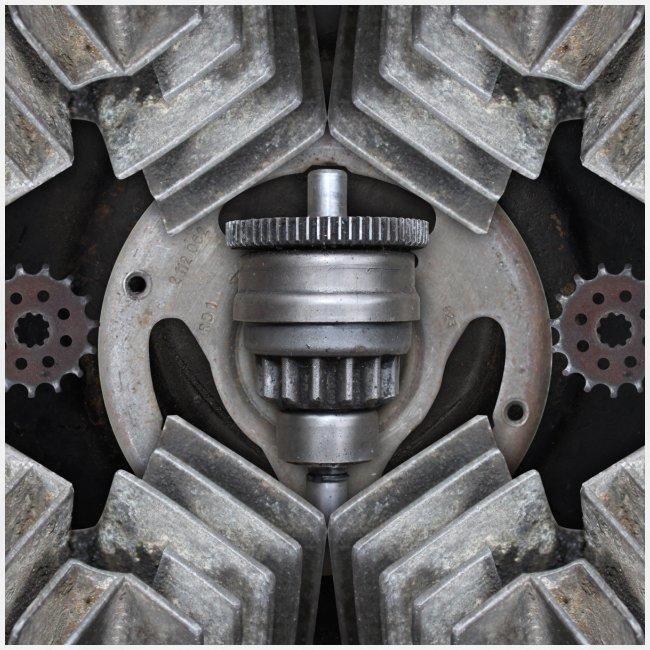 metalen motor onderdelen