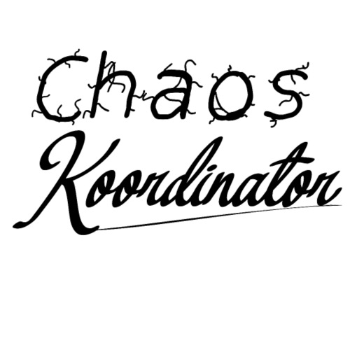 chaos koordinator - Männer Premium T-Shirt