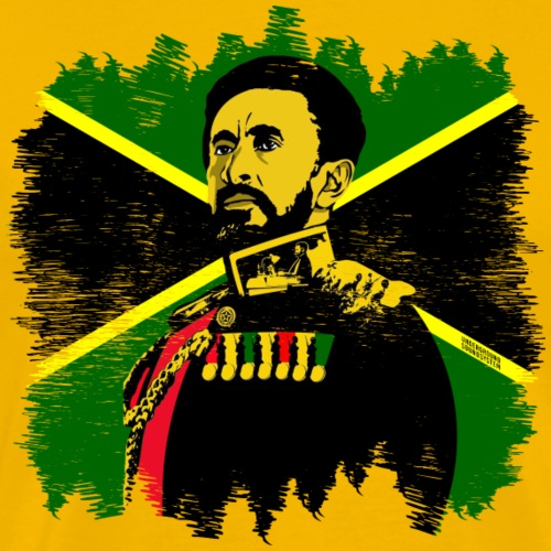 His Imperial Majesty Rastafari - Männer Premium T-Shirt
