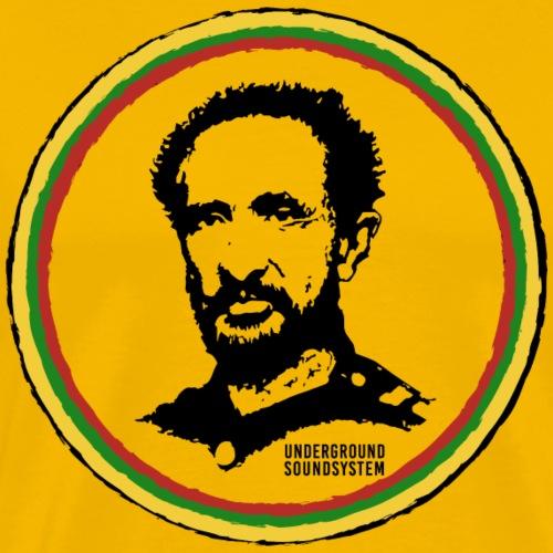Reggae Emporer Selassie I - Männer Premium T-Shirt