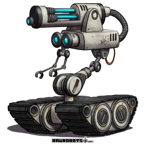 Mobil Laser Gun Robot (M.L.G.R)! - Herre premium T-shirt