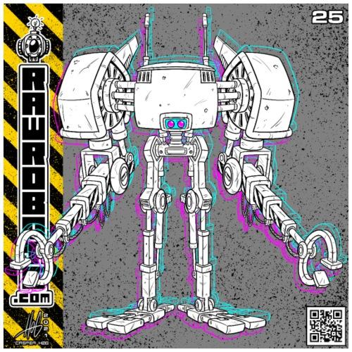 The E.X.T.E.N.D. Robot! - Herre premium T-shirt