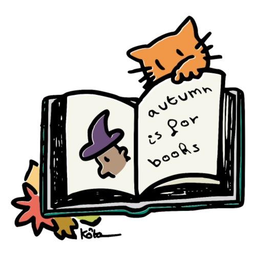L'automne, c'est pour les livres ! - Männer Premium T-Shirt