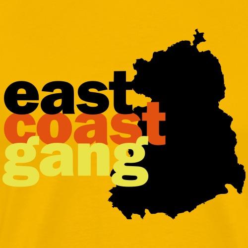 east coast gang aus der DDR - Männer Premium T-Shirt
