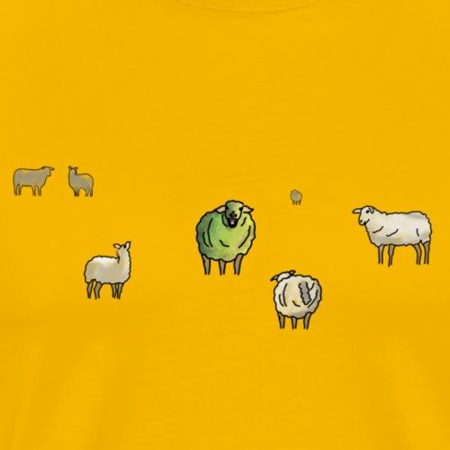 Das etwas andere Schaf - Männer Premium T-Shirt