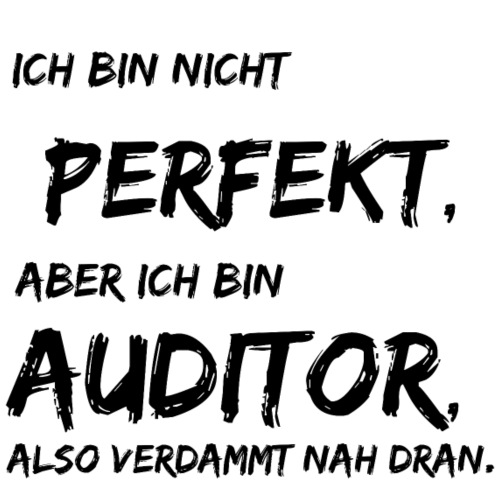 nicht perfekt auditor black