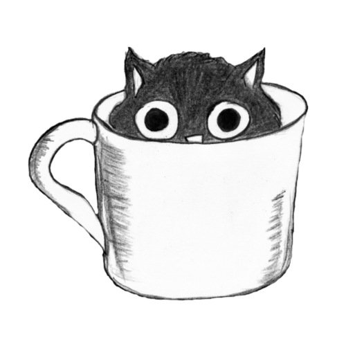 Katze in Tasse