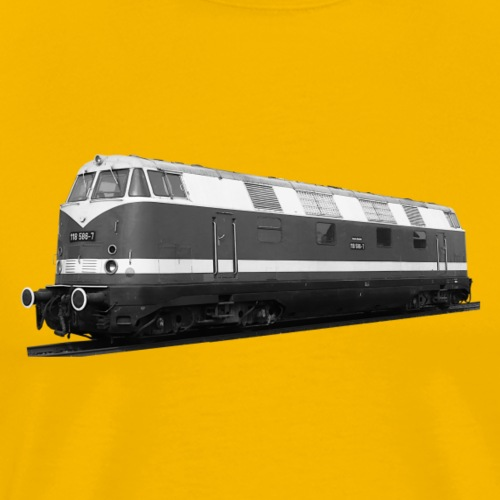 Lokomotive Diesel V 180 Deutsche Reichsbahn DDR - Männer Premium T-Shirt