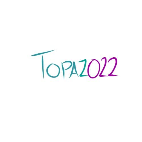 Topaz022 - Original 2018 Logo - Premium T-skjorte for menn