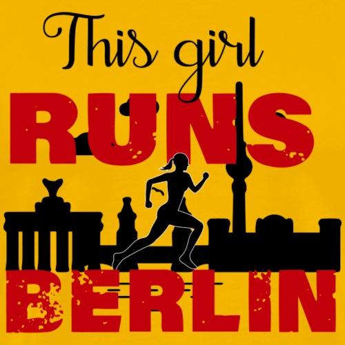 Marathon Berlin - Männer Premium T-Shirt