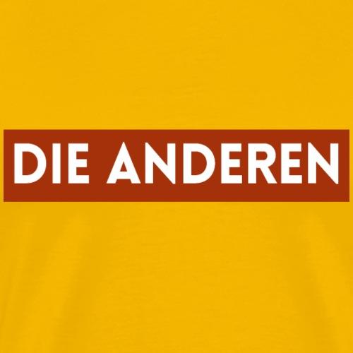 dieanderen - Männer Premium T-Shirt