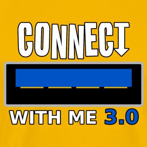 Connect With Me USB 3 0 png - Men's Premium T-Shirt
