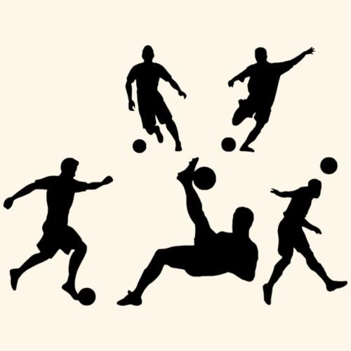 Fußballer in Action! - Männer Premium T-Shirt