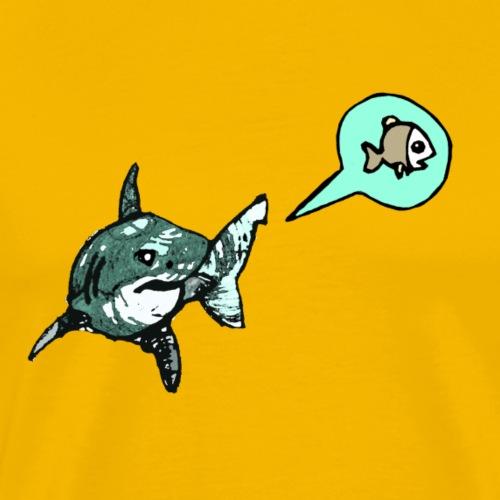 Hungry Shark - Männer Premium T-Shirt