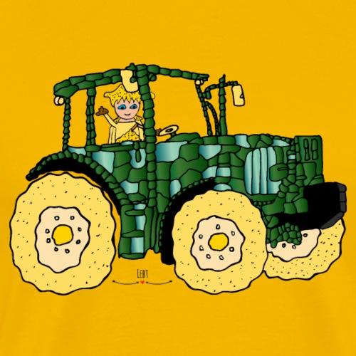 Arena fährt Traktor- Die Hüter von Orbis - Männer Premium T-Shirt