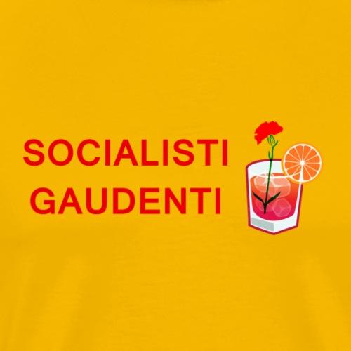 SOCIALISTI GAUDENTI - Maglietta Premium da uomo