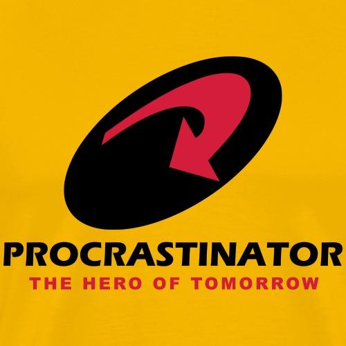 procrastinator en - T-shirt Premium Homme