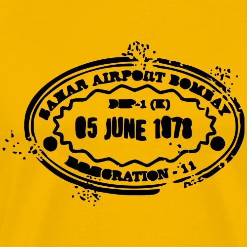 timbre de bombay - T-shirt Premium Homme
