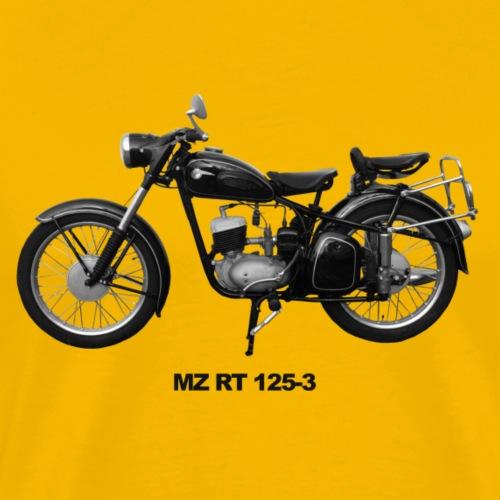 MZ RT 125-3 Zschopau DDR Motorrad - Männer Premium T-Shirt