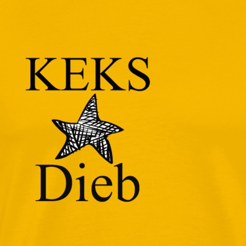 Keks Dieb - Männer Premium T-Shirt