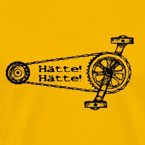 Haette Haette Fahrradkette 2 - Männer Premium T-Shirt