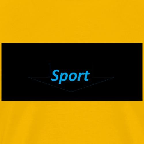sport merch - Männer Premium T-Shirt