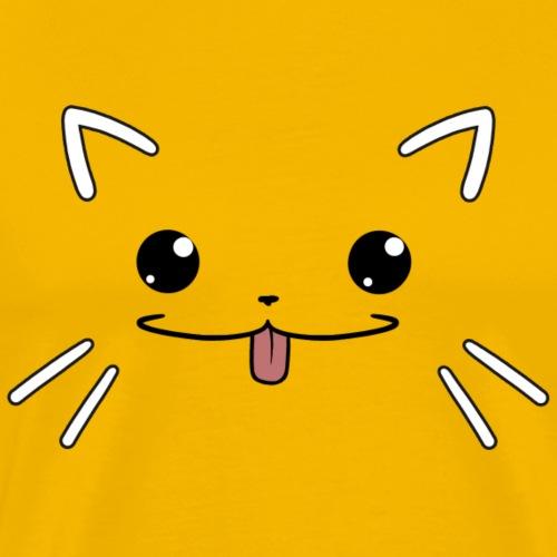 Puss Face - Männer Premium T-Shirt