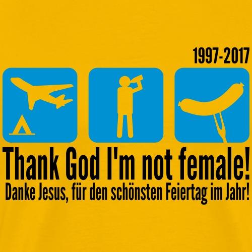 maennertag_deutsch_englis - Männer Premium T-Shirt