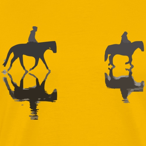 niedliche Pferde - Männer Premium T-Shirt