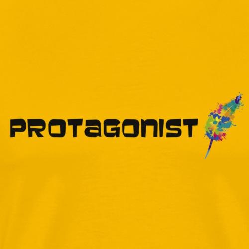 protagonist feder black
