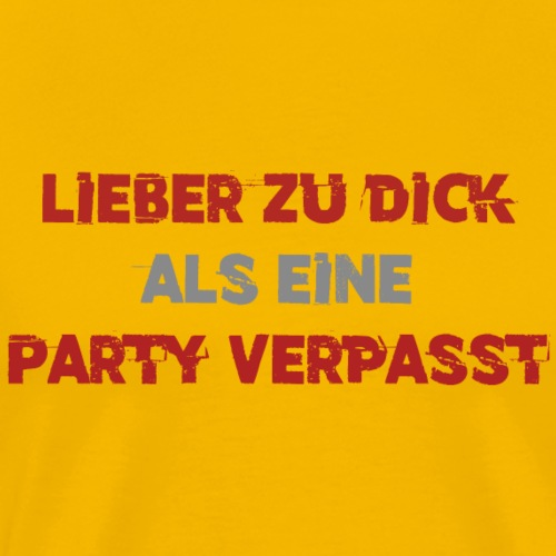T-Shirt für Männer Party, Junggesellenabschied - Männer Premium T-Shirt