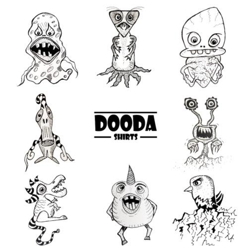 Dooda Compilation - T-shirt Premium Homme