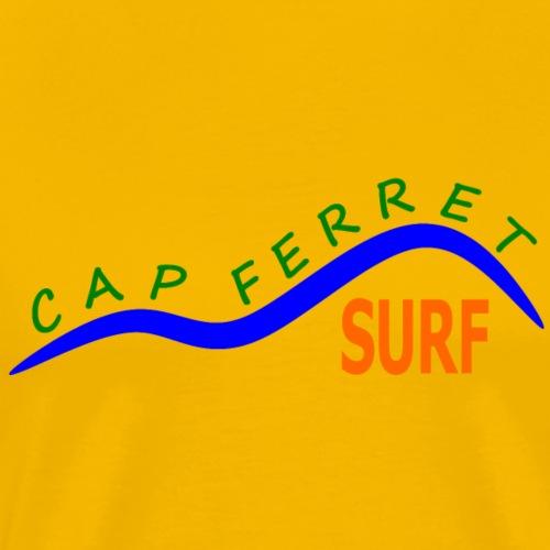 Cap Ferret Surf - Men's Premium T-Shirt