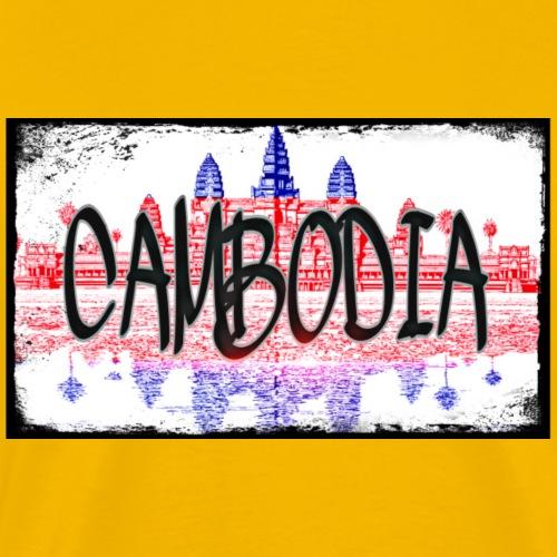 Cambodia - Männer Premium T-Shirt