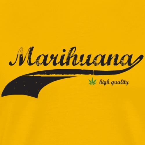 Marihuana (high quality) - Männer Premium T-Shirt