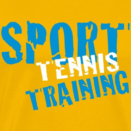 SPORT TENNIS TRAINING - T-shirt Premium Homme