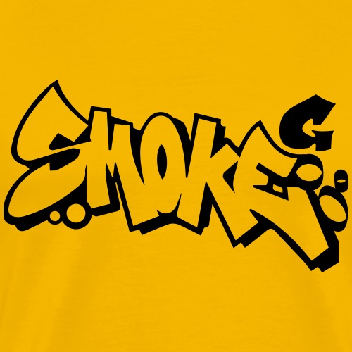 smoke Graffiti - Männer Premium T-Shirt